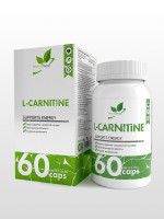 Карнитин NaturalSupp L-carnitine Tartrate, 60 капс