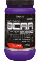 BCAA Ultimate Nutrition 12 000 Powder, фруктовый пунш, 457 г