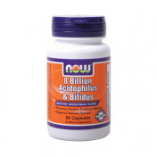 Энзимы NOW 8 Billion Acidoph/Bifidus 60 капс.