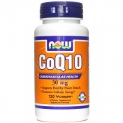 Витамины Now CoQ10 30mg 120 капс.